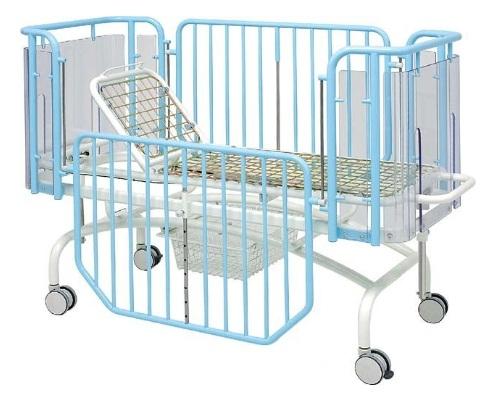 Детская медицинская кровать с изменяемой высотой ложа 19-FP644 (19-FP654 Вариант 2)