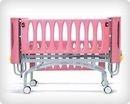 Кровать детская функциональная с регулируемой высотой ложа - (механическая) 24-РЕ110
