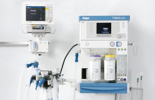 Наркозно-дыхательный аппарат Fabius (Фабиус)