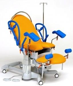 Универсальное акушерское родовое кресло с электрической регулировкой высоты 19-PO800