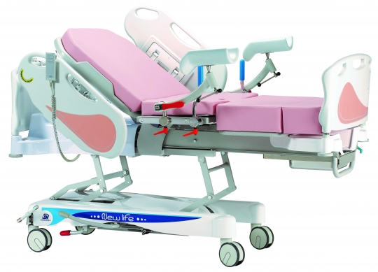 Гидравлическая акушерская кровать для родовспоможения 19-PO900