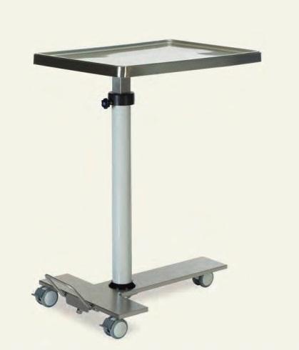 Манипуляционный хирургический стол для медицинских инструментов ГУСЬ с гидравлической системой MMH 2175