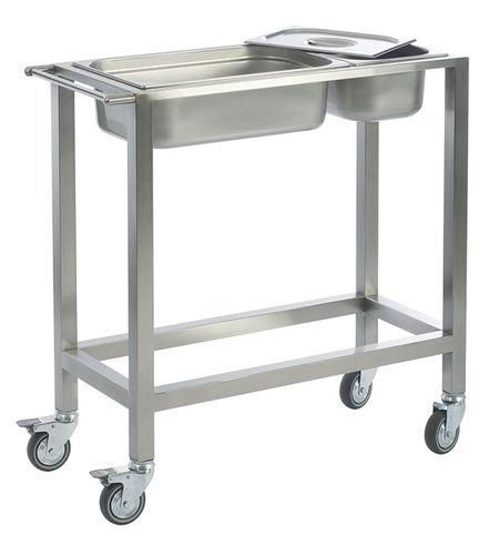 Стол для хранения и перевозки стерильных хирургических инструментов MCA 2130