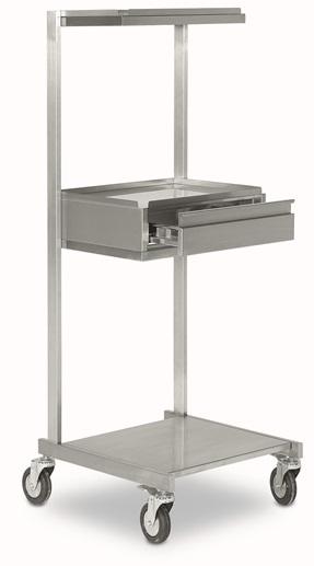 Медицинская тележка - стойка для аппаратуры