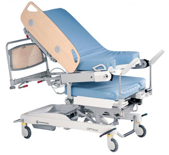 Акушерская кровать с электроприводом Optima Merivaara
