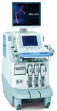 Цифровой кардиодиагностический УЗИ-сканер фирмы Artida TOSHIBA