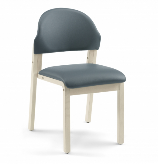 Деревянный мягкий стул для посетителей 376421