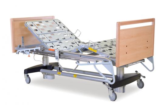 Электрическая медицинская кровать с 2 подъемными колоннами (4-х секционная) EGEO