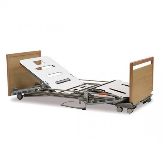 Электрическая медицинская кровать с двойной системой подъема (4 секции) ALZHEIMER 19/79