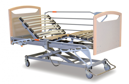 Электрическая медицинская кровать (4-х секционная) NEW CLASSIC Aura
