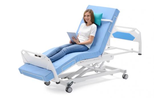 Электрическое медицинское кресло-кровать для гемодиализа и химиотерапии SILOVO A5 CA
