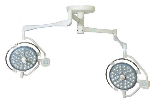 Хирургический потолочный двухблочный светильник Паналед 120/120