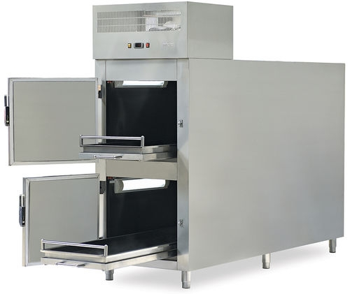 Холодильник для трупов с двумя фронтальными дверцами MMC 2000