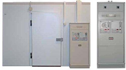 Холодильные и морозильные комнаты