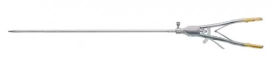 Инструменты для Лапароскопии - иглодержатели с эргономичной ручкой