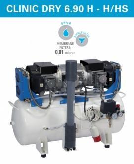 Компрессор медицинский Clinic Dry 6/90 HS (стандарт, 230 В)