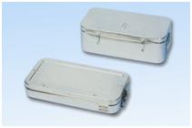 Контейнеры из нержавеющей стали или алюминиевые для медицинских инструментов