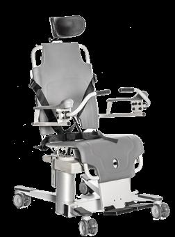 Кресло для душа TR 1000 с функцией наклона (работает от аккумулятора)