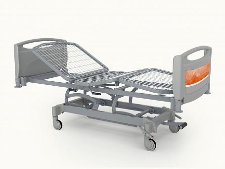 Медицинская функциональная четырехсекционная кровать с изменяемой высотой (гидравлический привод) Theorema OA0235