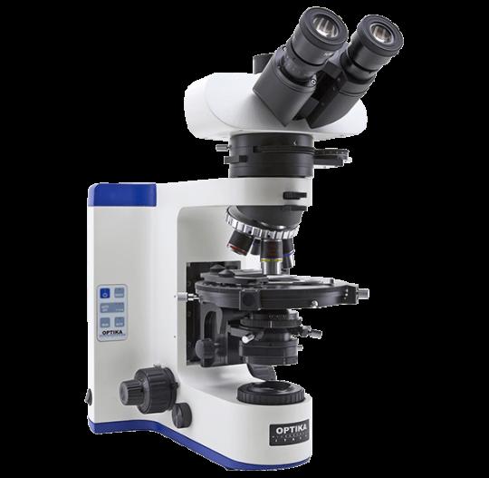 Поляризационный лабораторный микроскоп с проходящим светом B-1000 POL