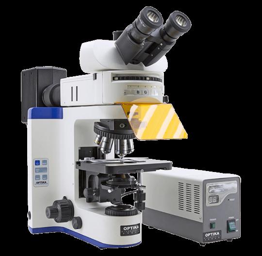Флуоресцентные лабораторные микроскопы серии FLUO