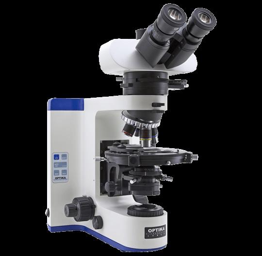 Лабораторный поляризационный микроскоп с проходящим светом B-1000 POL