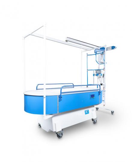 Лечебно-ожоговая и противопролежневая кровать с подъемником КМ-05-02 САТУРН-90