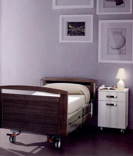Медицинская палатная мебель из дерева для клиник, санаториев и госпиталей MELISSA