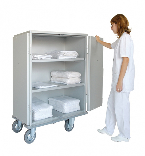 Медицинский шкаф для белья 1550/232 CR
