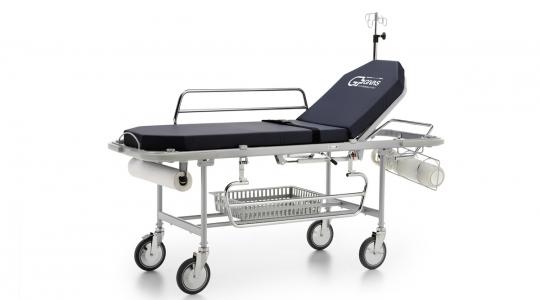 Медицинская тележка - каталка для перевозки пациентов GIVAS BS 1602