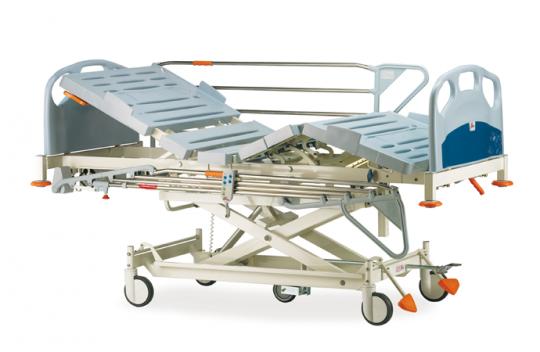 Медицинская механическая 4-х секционная кровать Komplet Pardo