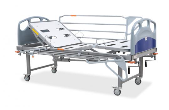 Медицинская кровать для психиатрических отделений (4-х секционная) Easo Pardo