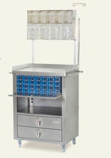 Медицинская тележка для анестезии MIA 8500
