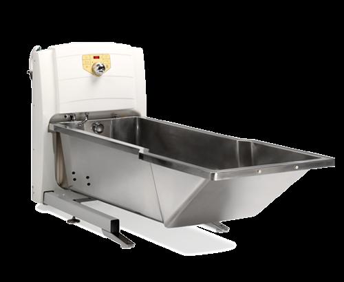 Медицинская ванна из нержавеющей стали TR 900SS - регулировка по высоте