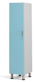 Медицинский палатный шкаф с 1 отделением из биламината 13-FP181 (Вариант 1)