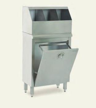 Медицинский шкаф для колпаков, шапочек и масок MKB 2100