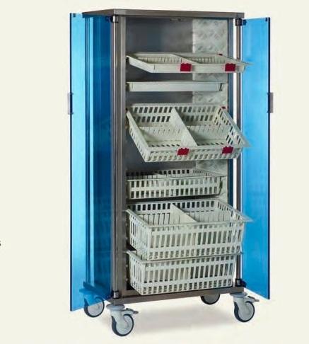 Медицинский шкаф для хранения лекарств и медикаментов MISD 2070