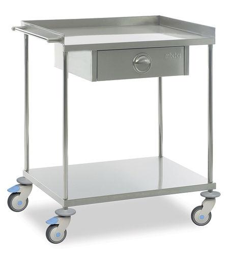 Медицинский стол для инструментов (с выдвижным ящиком) MAM 2130