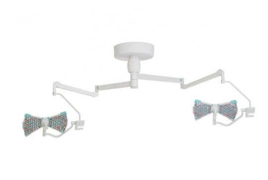 Медицинский хирургический потолочный двухблочный светильник Аксима СД 160/160