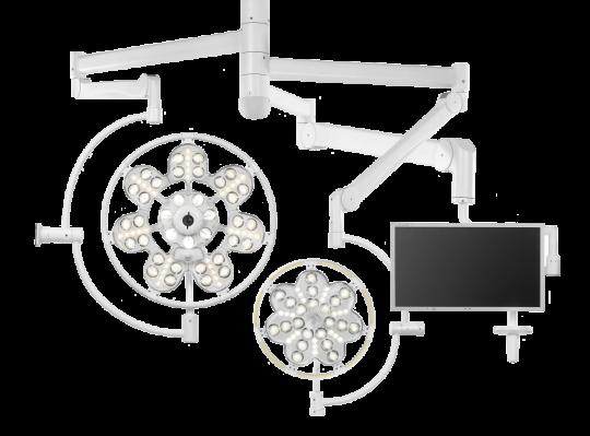 Хирургический светильник ЭМАЛЕД 500/300/X