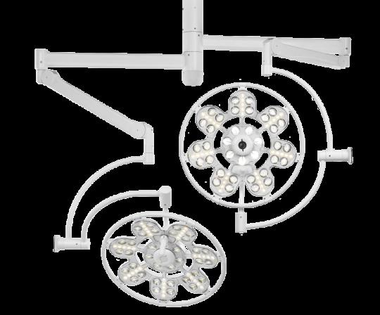 Медицинский светильник потолочный ЭМАЛЕД 500/500