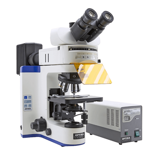 Флуоресцентный микроскоп лабораторный B-1000 FL-HBO Optika Microscopes