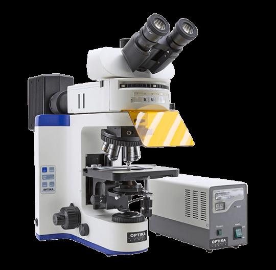 Флуоресцентный микроскоп лабораторный B-1000 FL-HBO Optika Microscopes