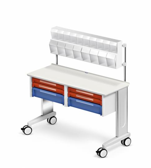 Модульный медицинский стол с ящиками 328860