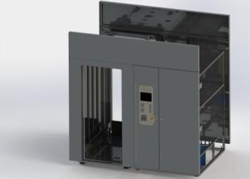 Мойка-дезинфектор для контейнеров - серии P-WCO