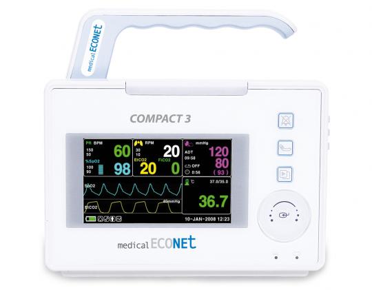 Портативный монитор пациента Compact 3 Medical ECONET