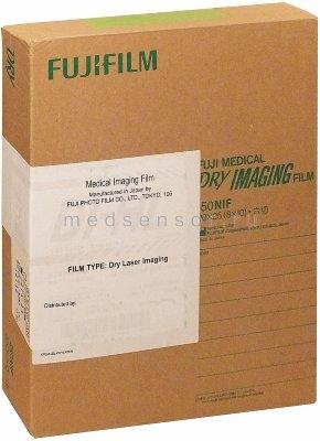 """Пленка для радиологических принтеров Fuji DI-HL Film 20x25 см (8x10"""")"""