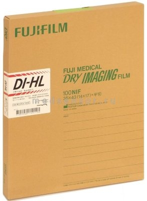 """Радиологическая пленка Fuji DI-HL Film 35x43 см (14x17"""")"""