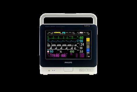 Портативный прикроватный монитор пациента Philips IntelliVue MX400