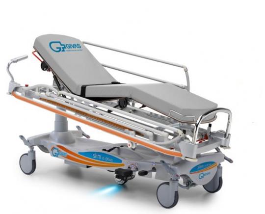 Реанимационная электрическая каталка для перевозки пациентов ВТ1400 (Вариант 2)